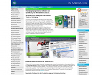 In-mediakg.de - Bildbearbeitungssoftware, Newsletter Software, eigene Homepage erstellen und Diashow Programm