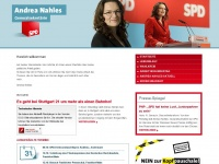 andrea-nahles.de Thumbnail
