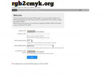 Rgb2cmyk.org - Online RGB to CMYK conversion