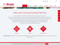 Binder Elektronik - Ihr EMS-Dienstleister - Home