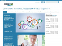 Lagus.mv-regierung.de - Startseite - Landesamt für Gesundheit und Soziales Mecklenburg-Vorpommern
