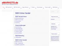 B2B Online Handel, emarkets.de B2B Marktplatz Verzeichnis