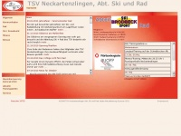 Ski-rad-neckartenzlingen.de - TSV Neckartenzlingen, Abt. Ski und Rad