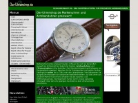 Uhren, Chronographen, Armbanduhren, Markenuhren online bestellen bei Der-Uhrenshop.de