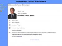 Rechtsanwalt Gunnar Zimmermannn