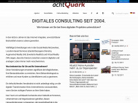 achtQuark - Internetagentur und Marketing Consulting - München | Online Marketing - Interactive Consulting - München seit 2004