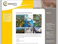 Microtec-suedwest.de - MicroTEC S&uuml;dwest - The Cluster for Smart Solutions