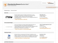 Standardsoftware - die besten Produktlösungen - IT-Bestenlisten - Die beste Standardsoftware