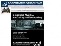 kammerchor-oberaspach.de
