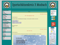 Sportsch&uuml;tzenkreis 3 Mosbach