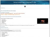kleinepcwerkstatt.de --> Seit 2003 Ihr PC-Notdienst und PC-Service im Großraum Bretten
