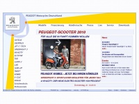 Peugeot-scooter.de - Peugeot Motocycles Deutschland GmbH - Peugeot-ScootersF&uuml;r alle die in Fahrt kommen wollen