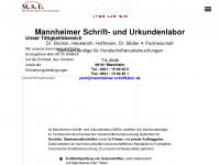 mannheimer-schriftlabor.de