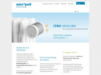 Micropelt Energy Saving Home