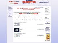 Nähcenter Krauß in 71364 Winnenden, Meisterbetrieb, Verkauf von Nähmaschinen mit Online-Shop - Nähmaschinen Krauß - Winnenden