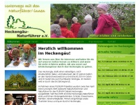 Heckeng&auml;u-Naturf&uuml;hrer -  Naturkundliche F&uuml;hrungen - Willkommen