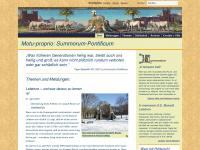 Summorum-pontificum.de - Summorum Pontificum