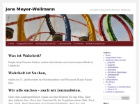 Homepage von Jens Meyer-WellmannJens Meyer-Wellmann | Journalist, Lateinamerika-Historiker, Hamburger