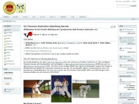 SG Siemens Karlsruhe Abteilung Karate         —         Karate SG Siemens KA