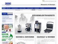 BEEM - Elements of Lifestyle Home page
