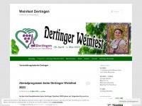 Weinfest Dertingen   Treffpunkt am Mandelberg