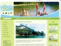 Camping Zellersee / Schleching - im Chiemgau
