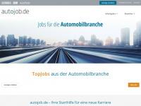 Stellenportal der Automobilbranche: autojob.de - Jobs Stellenangebote Automotive
