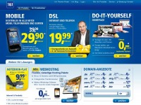 1und1.de - 1&1 Internet AG - DSL, Hosting, Mobile Internet, Domain, Server