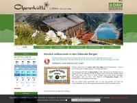 Zillertaler Hütte für den Urlaub in den Bergen - Olpererhütte