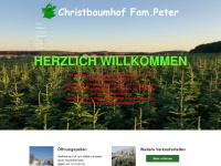 Christbaumhof Peter - Weihnachtsbäume selbst schlagen