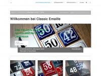 Classic-emaille.de - Classic Emaille - Emailleschilder - Hausnummern - Straßenschilder