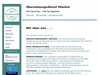 Moeslein - Übersetzungsdienst - Translation Agency - Bureau de Traduction