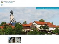 Gemeinde Engelsberg im Landkreis Traunstein, Oberbayern, Bayern: Engelsberg