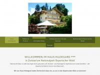 Urlaub am Nationalpark Bayerischer Wald - Ferienwohnungen Haus Hildegard in Zwiesel