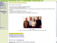 Gartenbauverein-tacherting.de - Verein für Gartenbau und Landschaftspflege Tacherting e.V.