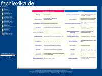 Fachlexika - Webkatalog und technisches Wörterbuch mit 270.000 Einträgen