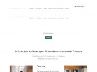 Kf-steininger.de - K. F. Steininger - (Kurierdienst Transporte Frachtenvermittlung KFZ-Vermietung)
