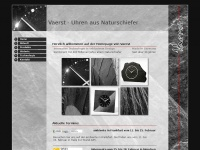 Vaerst.de - Vaerst | Uhren und Accessoires aus Naturschiefer