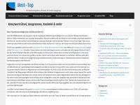 Deutsche Best-Top : Top 10, kostenlose ergänzte Webstatistik, Topliste