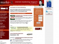 MARKE-X, das Internet Marketing Magazin - Ihre Informationsquelle fuer Internet Marketing