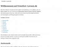 Willkommen auf Frustfrei-Lernen.de