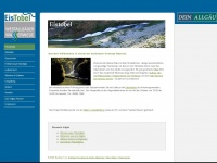 Eistobel.de - Eistobel - Wunder der Natur - Hauptseite