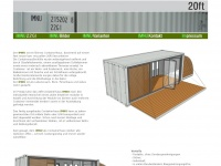 20ft containerhaus mobilheim mobilhaus. Black Bedroom Furniture Sets. Home Design Ideas