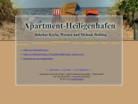 Heiligenhafen Appartements 2013