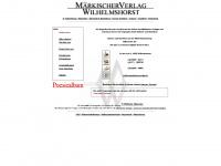 Märkischer Verlag Wilhelmshorst