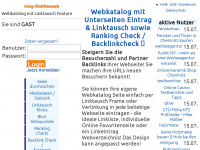 blog-linktausch.de Thumbnail
