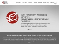 Alt-N Technologies Deutschland: MDaemon Mailserver, Relayfax, SecurityGateway, OutlookConnector, Archivierung, SecurityPlus, ProtectionPlus