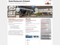 Startseite | Hotel-Restaurant Orthwein - Ihr Hotel und Restaurant für einen Besuch in Marburg(Cölbe)