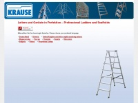 Leitern und Ger&uuml;ste - Ladders and Scaffolds