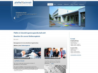 Pfeiffer-schmidt.de - Pfeiffer & Schmidt Ingenieurgesellschaft mbH in Nidda, Marburg, Frankfurt, Gießen